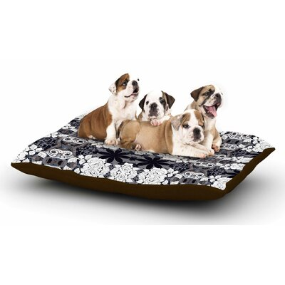 Suzanne Carter Lacey Dog Pillow with Fleece Cozy Top