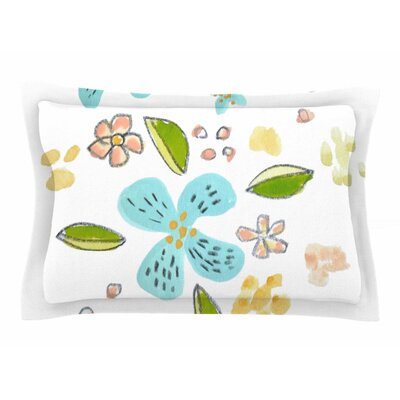 Jennifer Rizzo Happy Flower Dance Sham Size: Queen