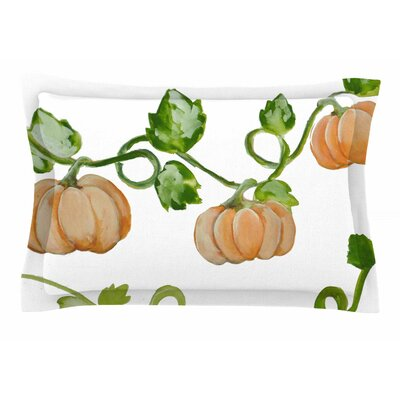 Jennifer Rizzo Trio of Fall Pumpkins Painting Sham Size: Queen