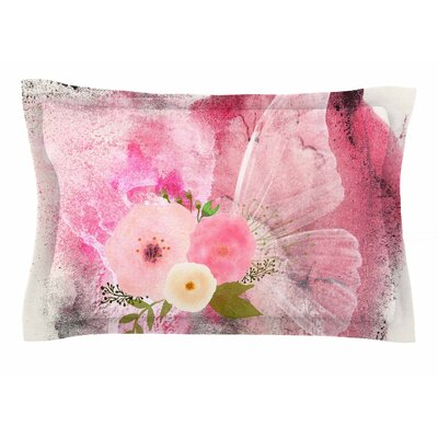 Li Zamperini My Butterfly Watercolor Sham Size: Queen