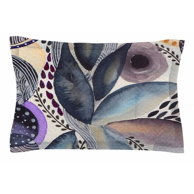 Li Zamperini Organic Watercolor Sham Size: Queen