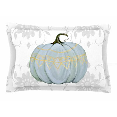 Jennifer Rizzo Boho Pumpkin Illustration Sham Size: Queen