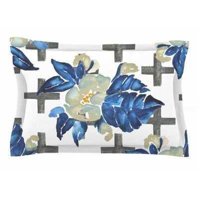 Jennifer Rizzo Plus Sign Floral Sham Size: King