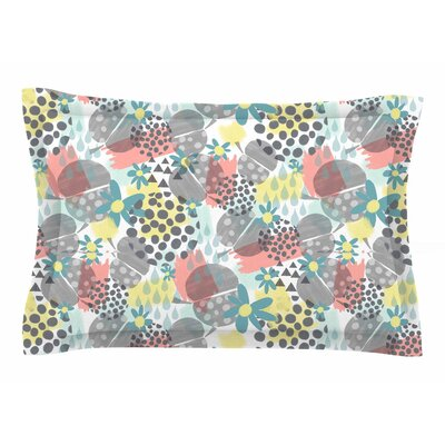 Melissa Armstrong Apples, Drops & Blooms Digital Sham Size: Queen