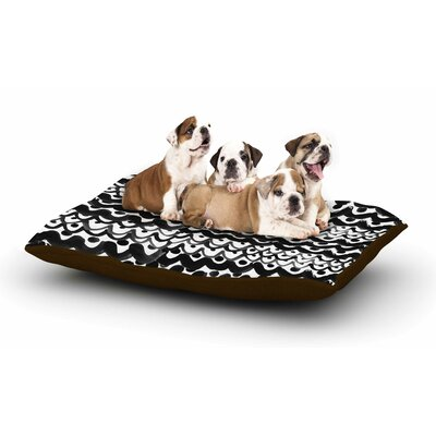 MaJoBV Finger Scales Dog Pillow with Fleece Cozy Top