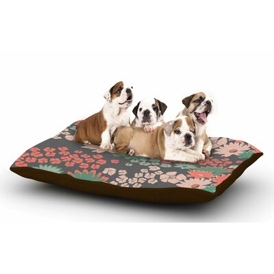 Zara Martina Mansen Natures Bouquet Dog Pillow with Fleece Cozy Top