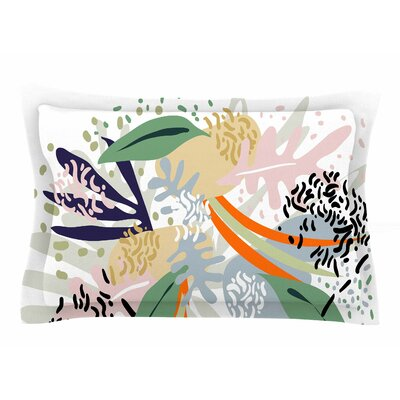 Mmartabc Abstract Marine Shapes Illustration Sham Size: 20 H x 40 W x 0.25 D