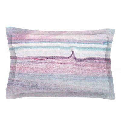 Mmartabc Painting Pastel Lines Sham Size: King