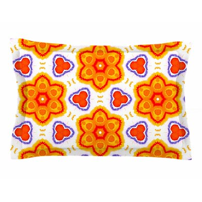 Miranda Mol Kaleidoscopic Flowers Sham Size: King