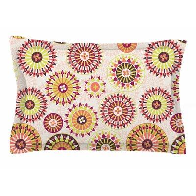 Nandita Singh Mandala Floral Sham Size: King