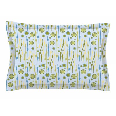Mydeas Dot Whimsy Vector Sham Size: Queen