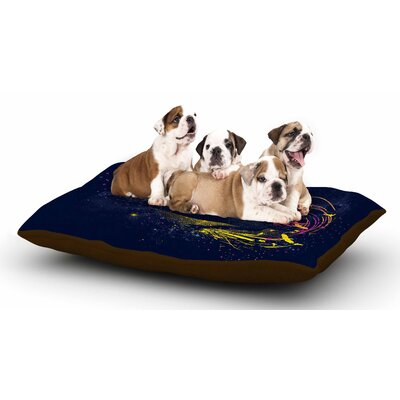Frederic Levy-Hadida The Birds Master Dog Pillow with Fleece Cozy Top