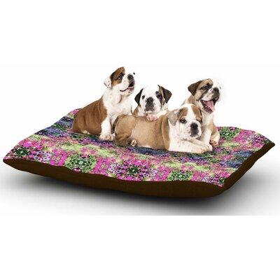 Carolyn Greifeld Cascade Reflections Abstract Dog Pillow with Fleece Cozy Top