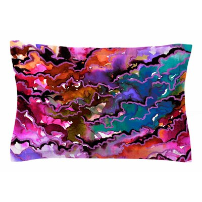 Ebi Emporium Radiant Skies Painting Sham Size: King