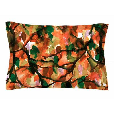Ebi Emporium By Any Other Name 7 Watercolor Sham Size: 20 H x 40 W x 0.25 D