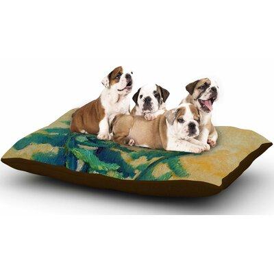 Carol Schiff Fiddleheads Dog Pillow with Fleece Cozy Top