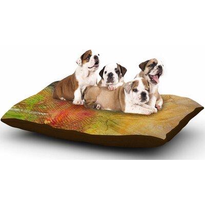 Carol Schiff Poppyfield Dog Pillow with Fleece Cozy Top