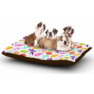 Anchobee Iris Dog Pillow with Fleece Cozy Top