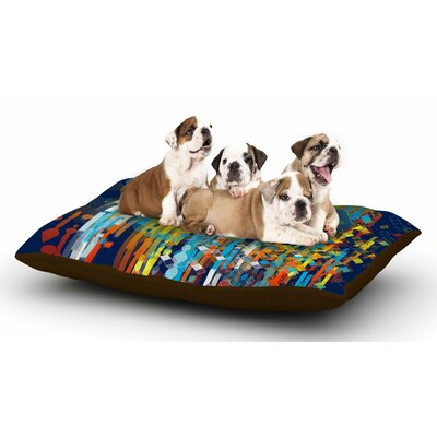 Frederic Levy-Hadida Color Fall Dog Pillow with Fleece Cozy Top