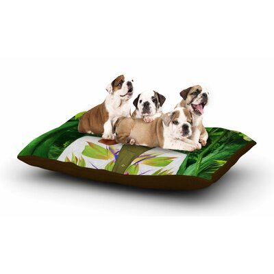 Natt Into the Leaves N5 Dog Dog Pillow with Fleece Cozy Top