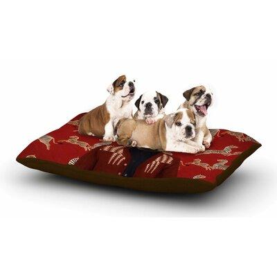 Natt Family Portrait N1 Fox Dog Pillow with Fleece Cozy Top