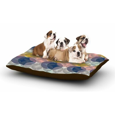 Maike Thoma Retro Spring Dog Pillow with Fleece Cozy Top Size: Large (50 W x 40 D x 8 H)