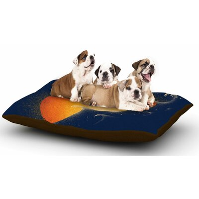 Barmalisirtb Welcomes Sunrise Dog Pillow with Fleece Cozy Top