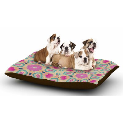 Nika Martinez Arabesque Dog Pillow with Fleece Cozy Top