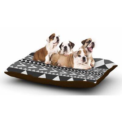 Nika Martinez Black Forest Dog Pillow with Fleece Cozy Top