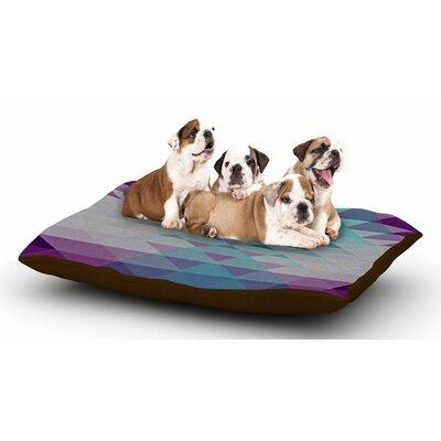 Nika Martinez Hipster Girl Dog Pillow with Fleece Cozy Top