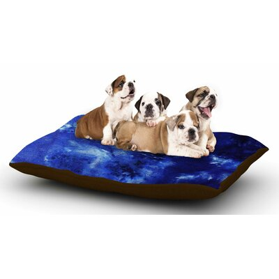 Nina May Saltwater Diamond Dog Pillow with Fleece Cozy Top