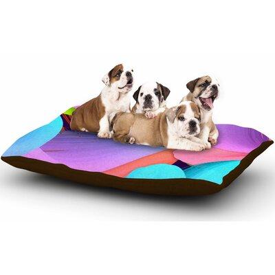 Danny Ivan Funny Dog Pillow with Fleece Cozy Top
