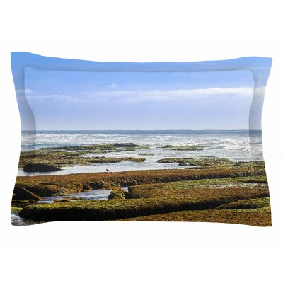 Nick Nareshni Low Tide Reef Photography Sham Size: 20 H x 30 W x 1 D