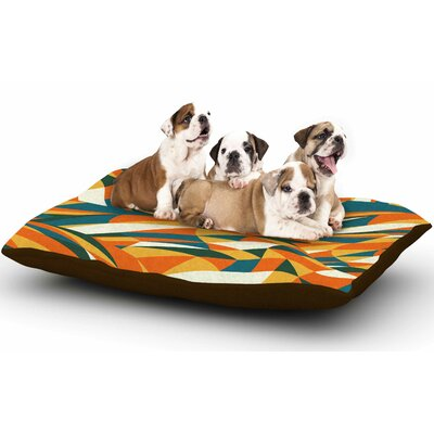 Danny Ivan Astro Naive Dog Pillow with Fleece Cozy Top