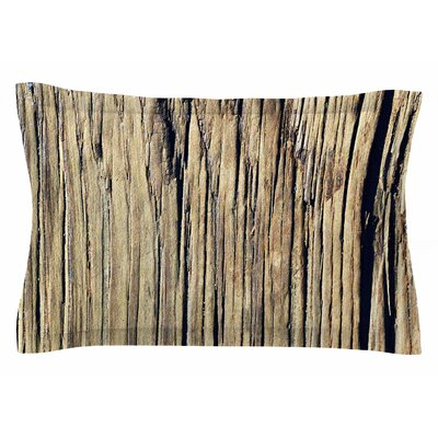 Nick Nareshni Tree Bark Photography Sham Size: Queen