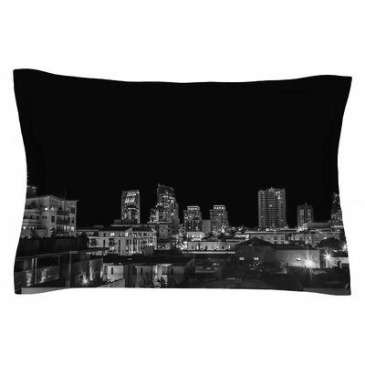 Nick Nareshni Cityscape Nights Photography Sham Size: King