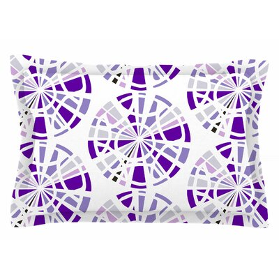Patternmuse Precious Amethyst Illustration Sham Size: King