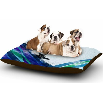 Federic Levy-Hadida The Wave Dog Pillow with Fleece Cozy Top