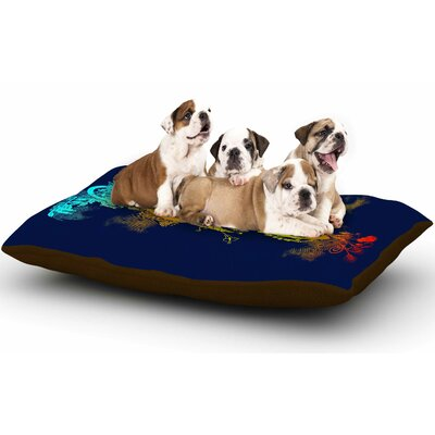 Federic Levy-Hadida Sound of Nature Music Dog Pillow with Fleece Cozy Top
