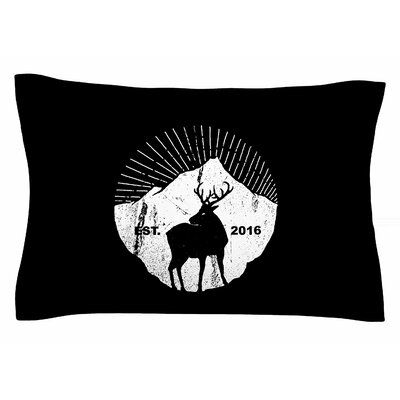 BarmalisiRTB American Mountain Deer Digital Sham Size: Queen