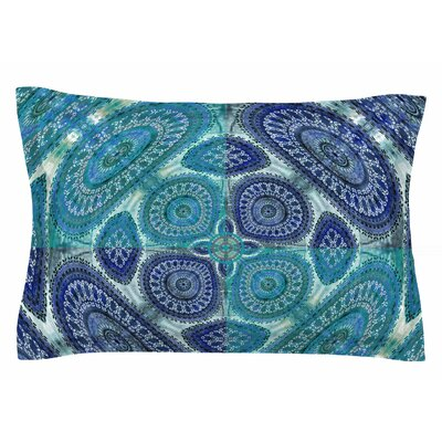 Nina May Mandala World Digital Sham Size: King