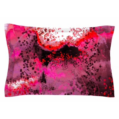 Nina May Pink Fizz Digital Sham Size: Queen