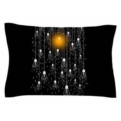 BarmalisiRTB One Light Digital Sham Size: 20 H x 40 W x 0.25 D