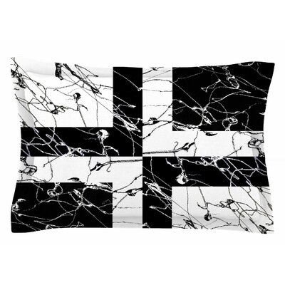 Nina May Ska Splatter Mixed Media Sham Size: King