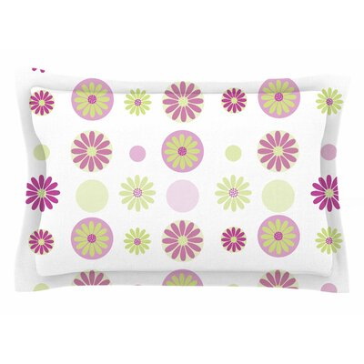 Afe Images Purple Floral Digital Sham Size: 20 H x 30 W x 1 D