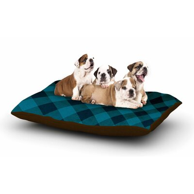 Matt Eklund Deep Current Dog Pillow with Fleece Cozy Top