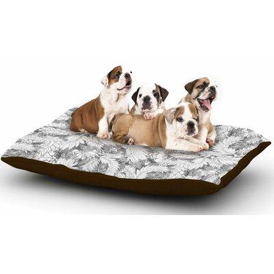 Danii Pollehn Jungle Paisley Dog Pillow with Fleece Cozy Top