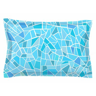 Afe Images Abstract Mosaic Illustration Sham Size: Queen