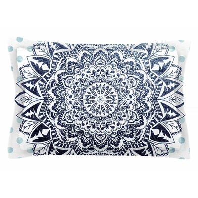 Nika Martinez Dots Mandala Illustration Sham Size: King
