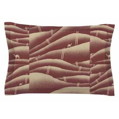 BarmalisiRTB Camels and Ladders Digital Sham Size: King